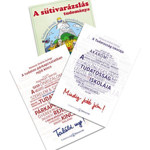 A Tudatosság Könyvtára 3 könyve